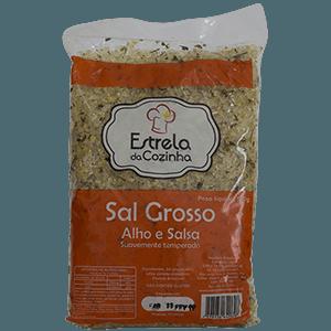 Sal Grosso c/ Alho e Salsa