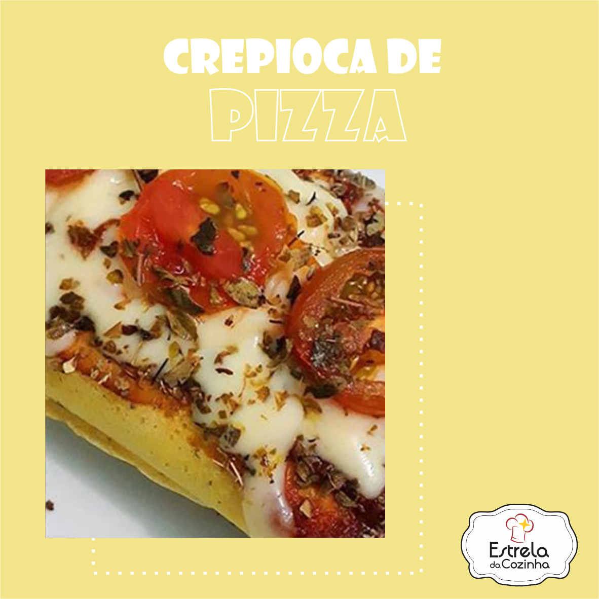 You are currently viewing Crepioca de Pizza