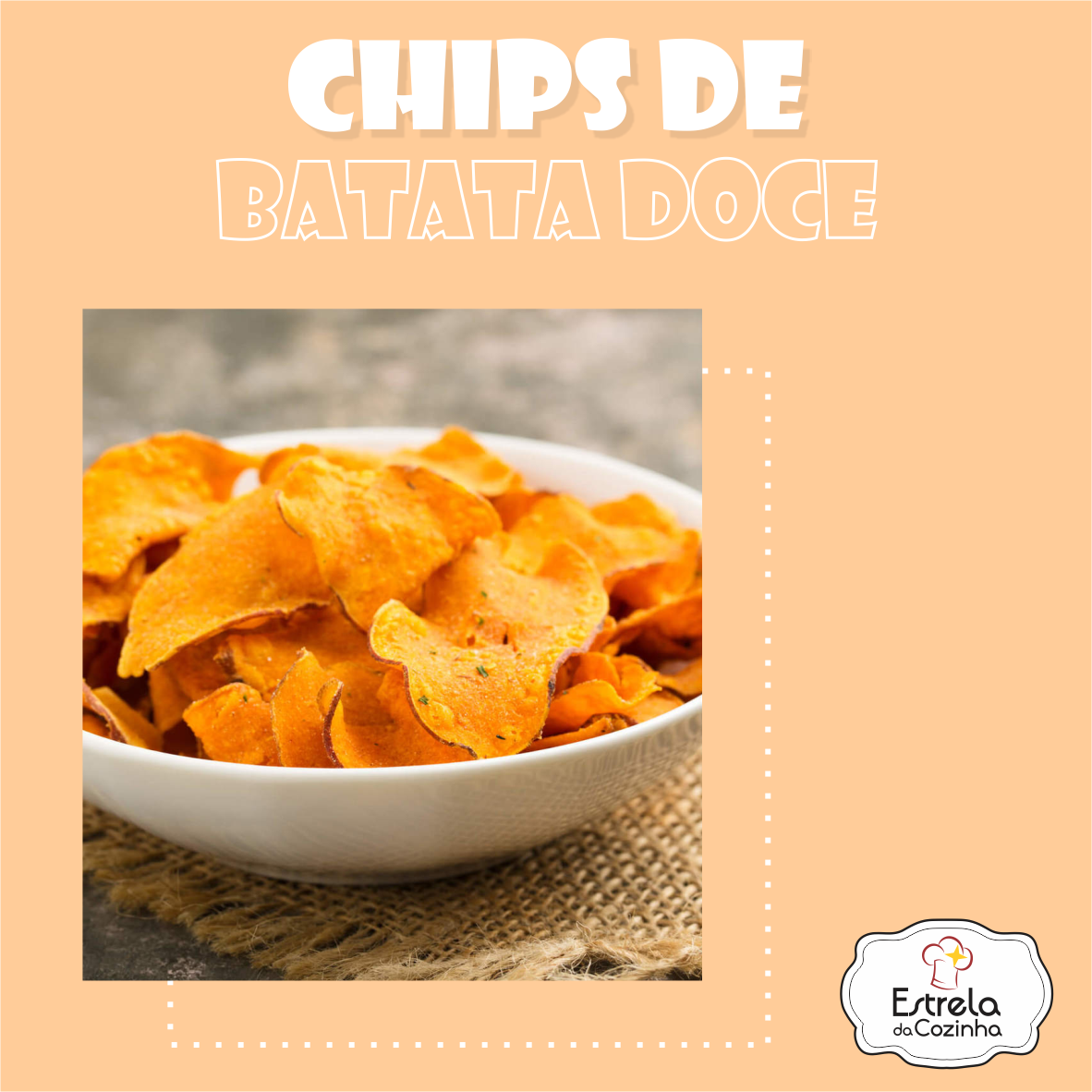You are currently viewing Chips de batata doce