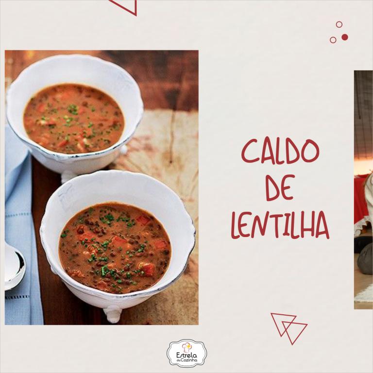 Read more about the article Caldo de lentilha