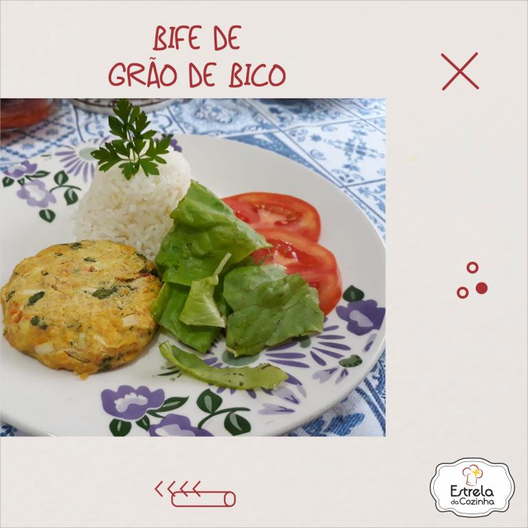 Read more about the article Bife de grão de bico