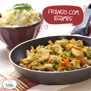 Frango com legumes