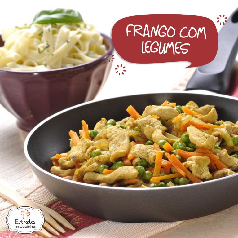 Read more about the article Frango com legumes