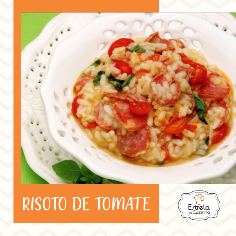 Read more about the article Risoto de tomate