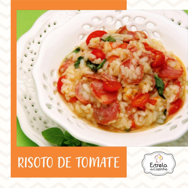 Risoto de tomate