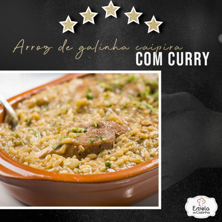 Read more about the article Arroz de galinha caipira com curry