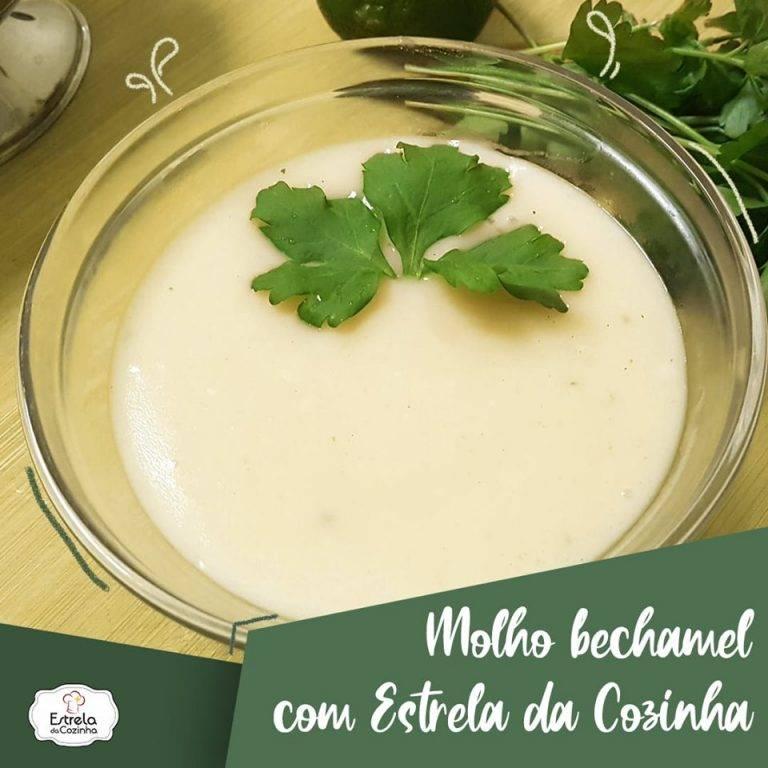 Read more about the article Molho bechamel com Estrela da Cozinha