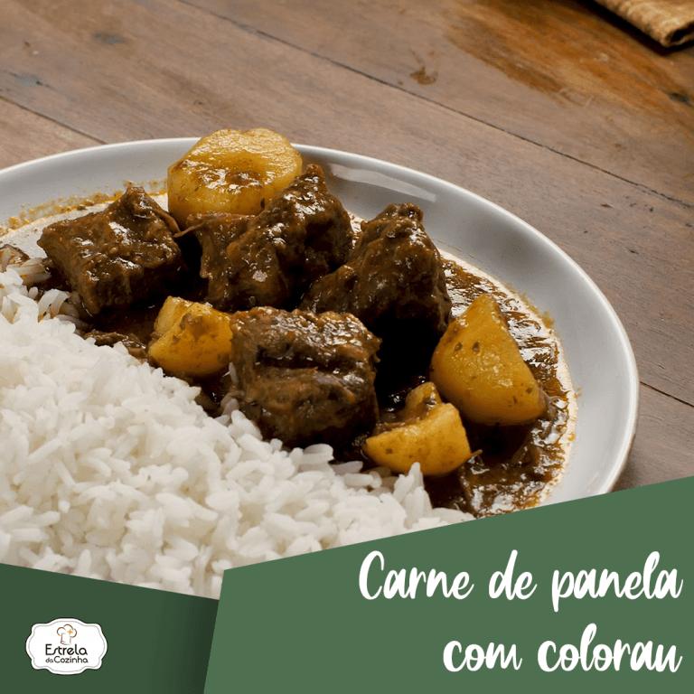 Read more about the article Carne de panela com colorau
