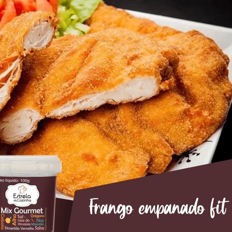 Read more about the article Frango empanado fit
