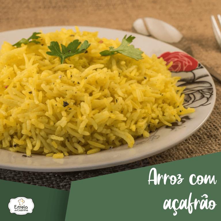 Read more about the article Arroz com açafrão