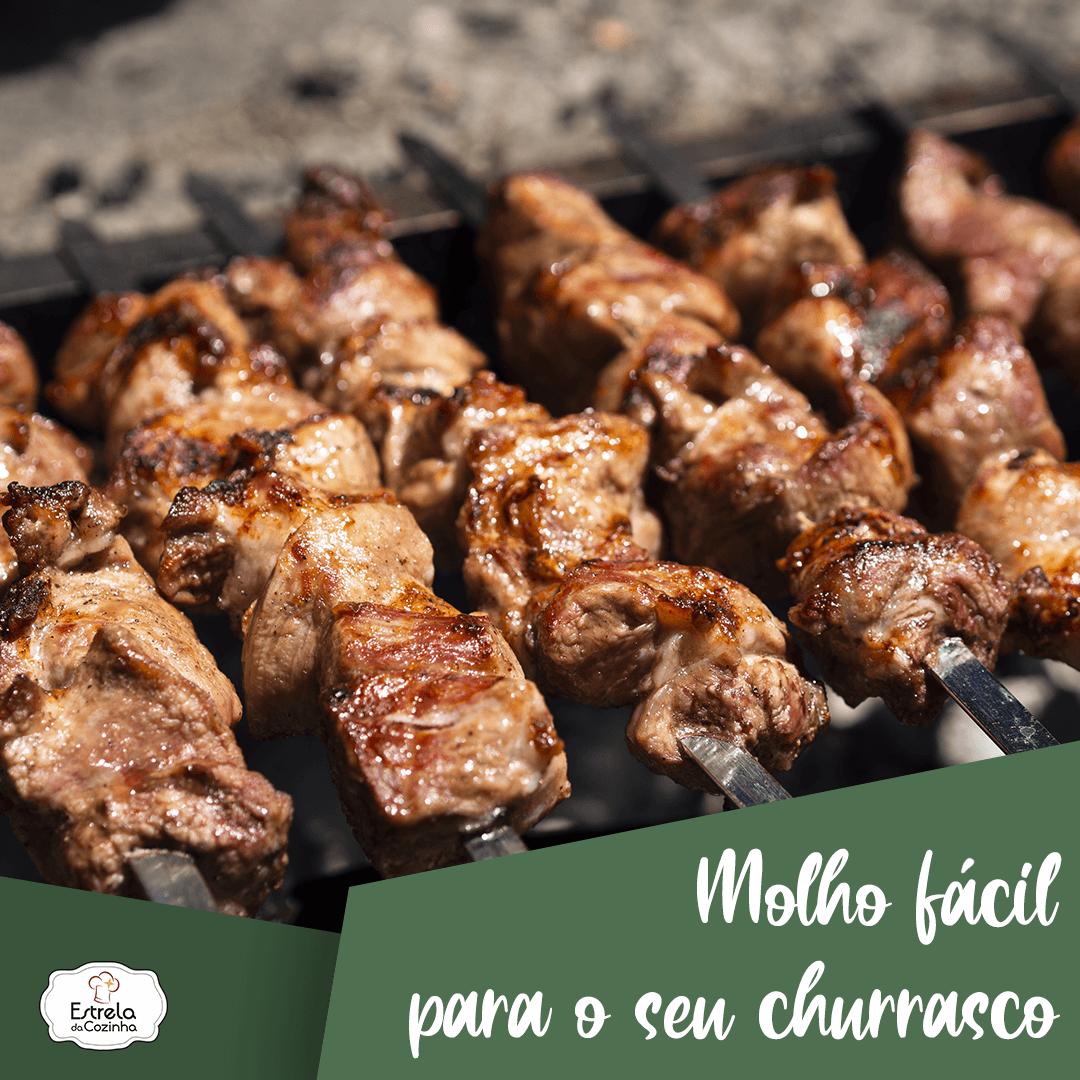 You are currently viewing Molho fácil para o seu churrasco