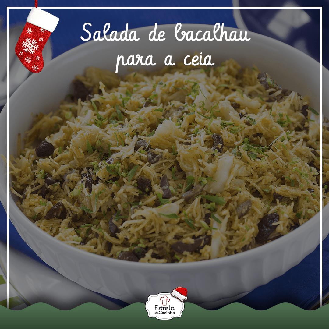 You are currently viewing Salada de Bacalhau para a ceia