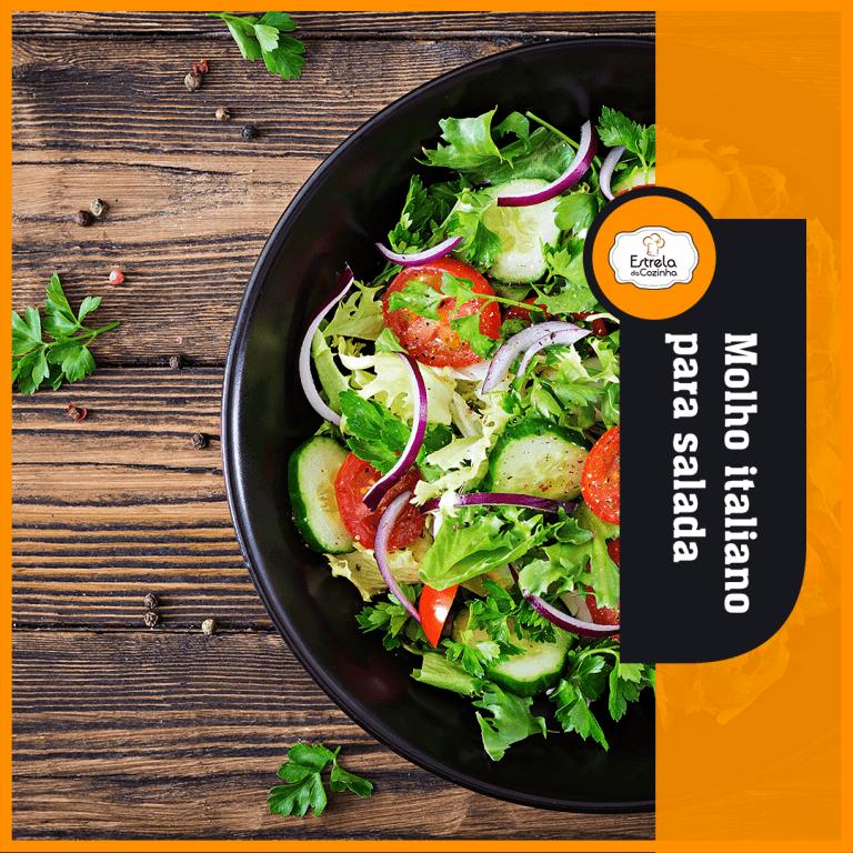 Read more about the article Molho italiano para salada